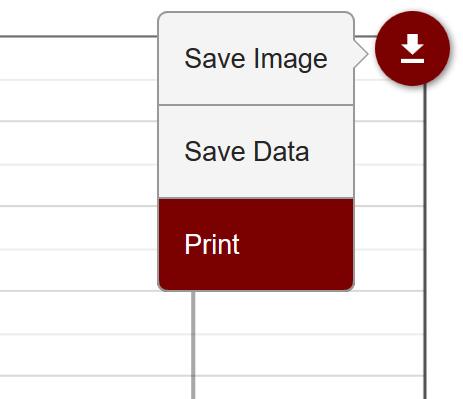 Export menu print option